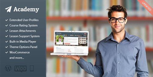 ThemeForest - Academy v2.15 - Learning Management Theme
