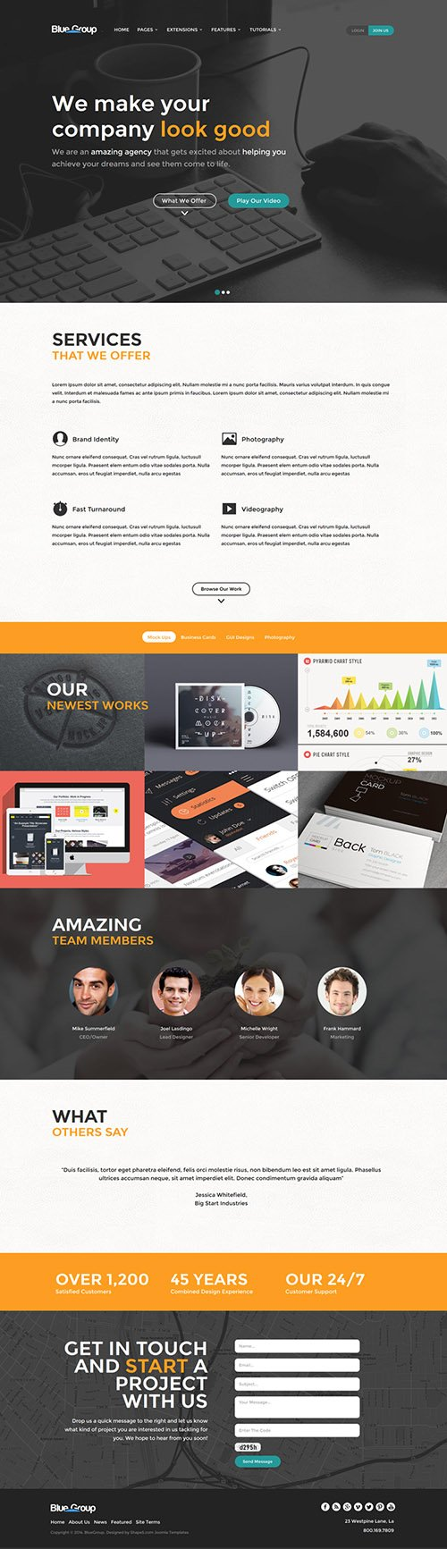 Shape5 - Blue Group v2.0 - WordPress Club Theme