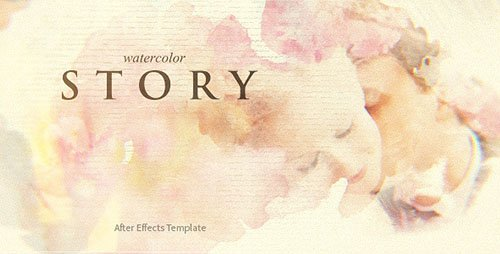 VideoHive - Watercolor Story - Project for After Effects