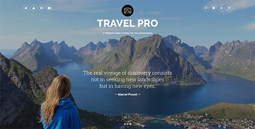ThemeForest - Travel Pro v1.0 - Tumblr Theme