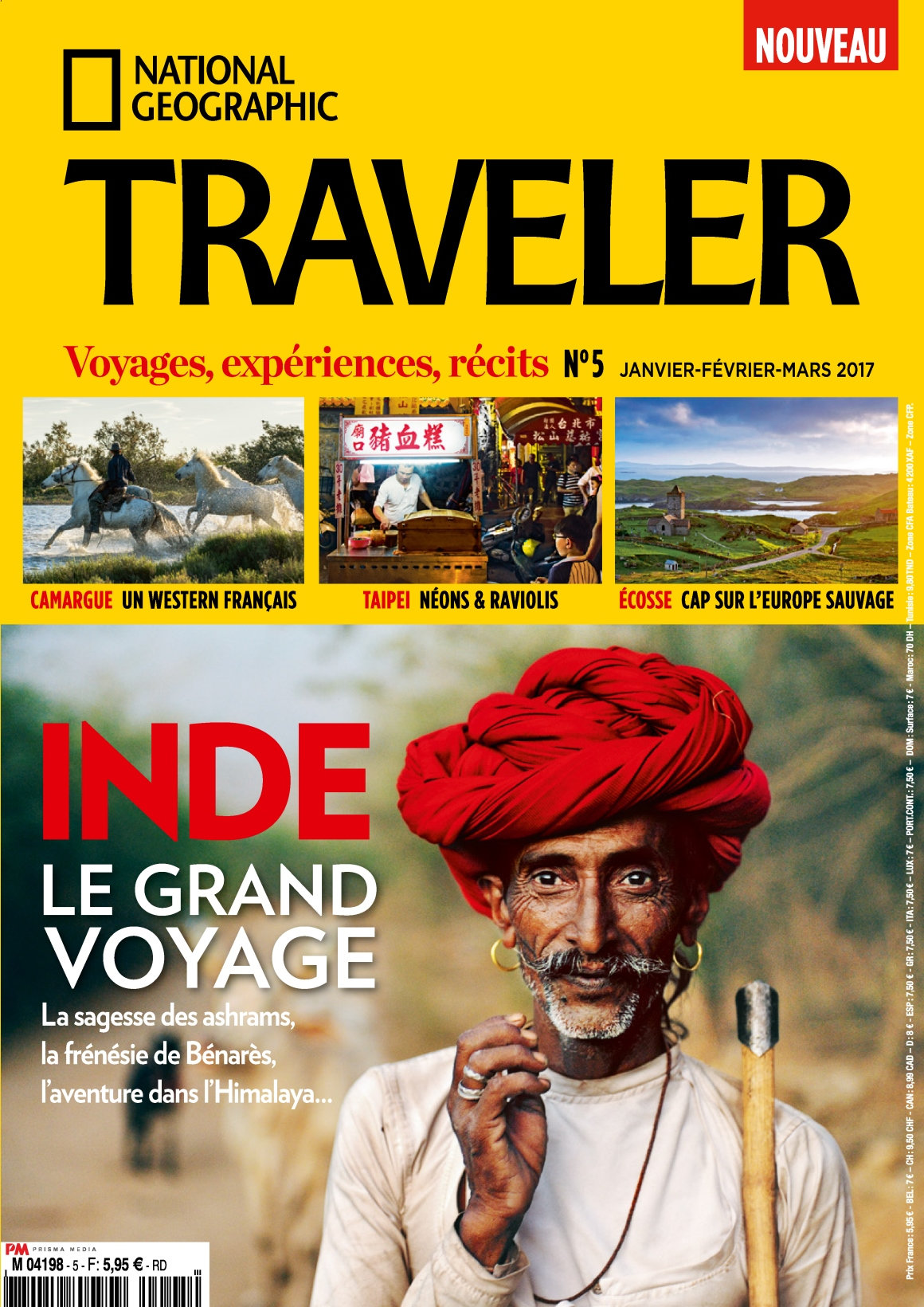 National Geographic Traveler N°5 - Janvier/Mars 2017