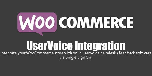 WooCommerce - UserVoice Integration v1.1.6