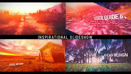 VideoHive - Inspirational Parallax Slideshow - Project for After Effects