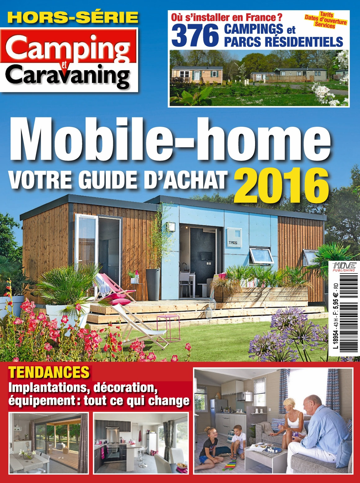 Camping et Caravaning Hors-Série N°43 - Guide D'achat 2016