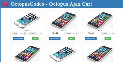 CodeCanyon - Octopus Ajax Cart (Update: 4 April 16)