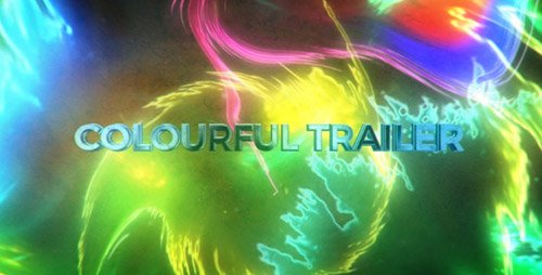 VideoHive - Colourful Trailer - Project for After Effects
