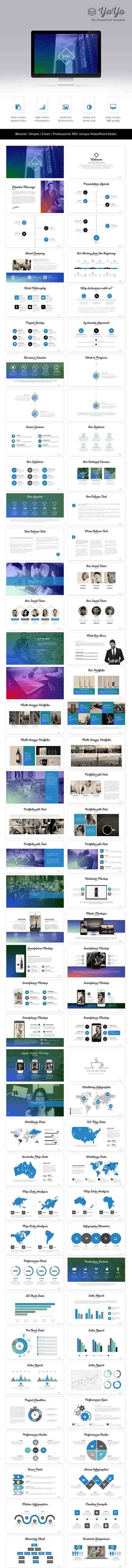 GraphicRiver - YoYo PowerPoint Template