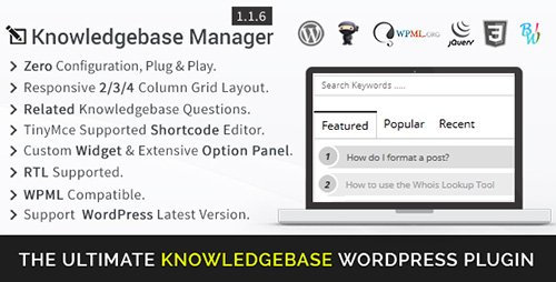 CodeCanyon - BWL Knowledge Base Manager v1.1.6