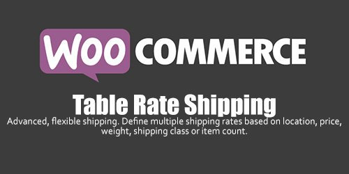 WooCommerce - Table Rate Shipping v3.0.2