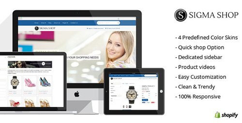 ThemeForest - Sigma - Responsive Multipurpose Shopify Theme (Update: 26 May 14)