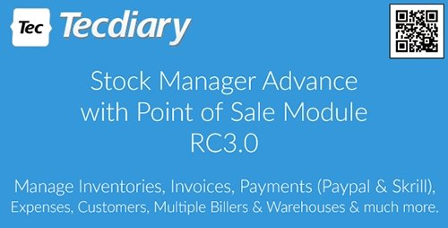 CodeCanyon - Stock Manager Advance with Point of Sale Module v3.0.2.23