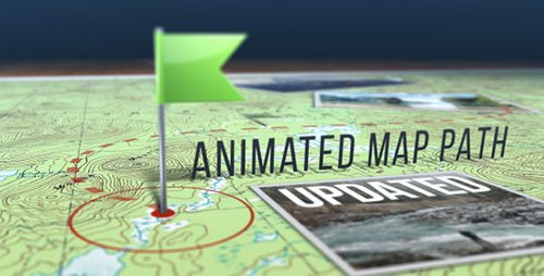 VideoHive - Animated Map Path - Project for After Effects