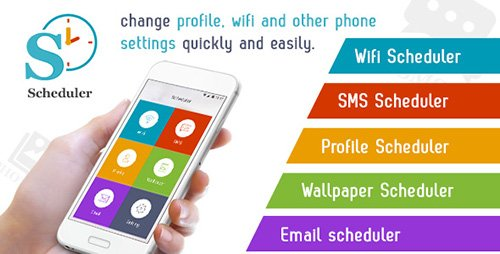 CodeCanyon - Scheduler v1.0 - Wifi,SMS,Profile