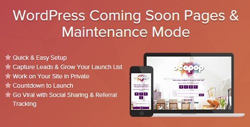 SeedProd Coming Soon Pro v4.5.2 - WordPress Coming Soon Pages & Maintenance Mode