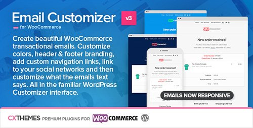 CodeCanyon - Email Customizer for WooCommerce v3.05