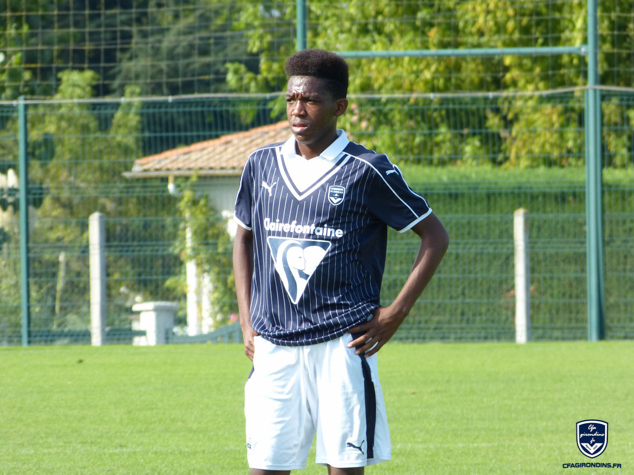 Cfa Girondins : Victoire des U16 contre l'Allemagne, Ndombasi titulaire - Formation Girondins