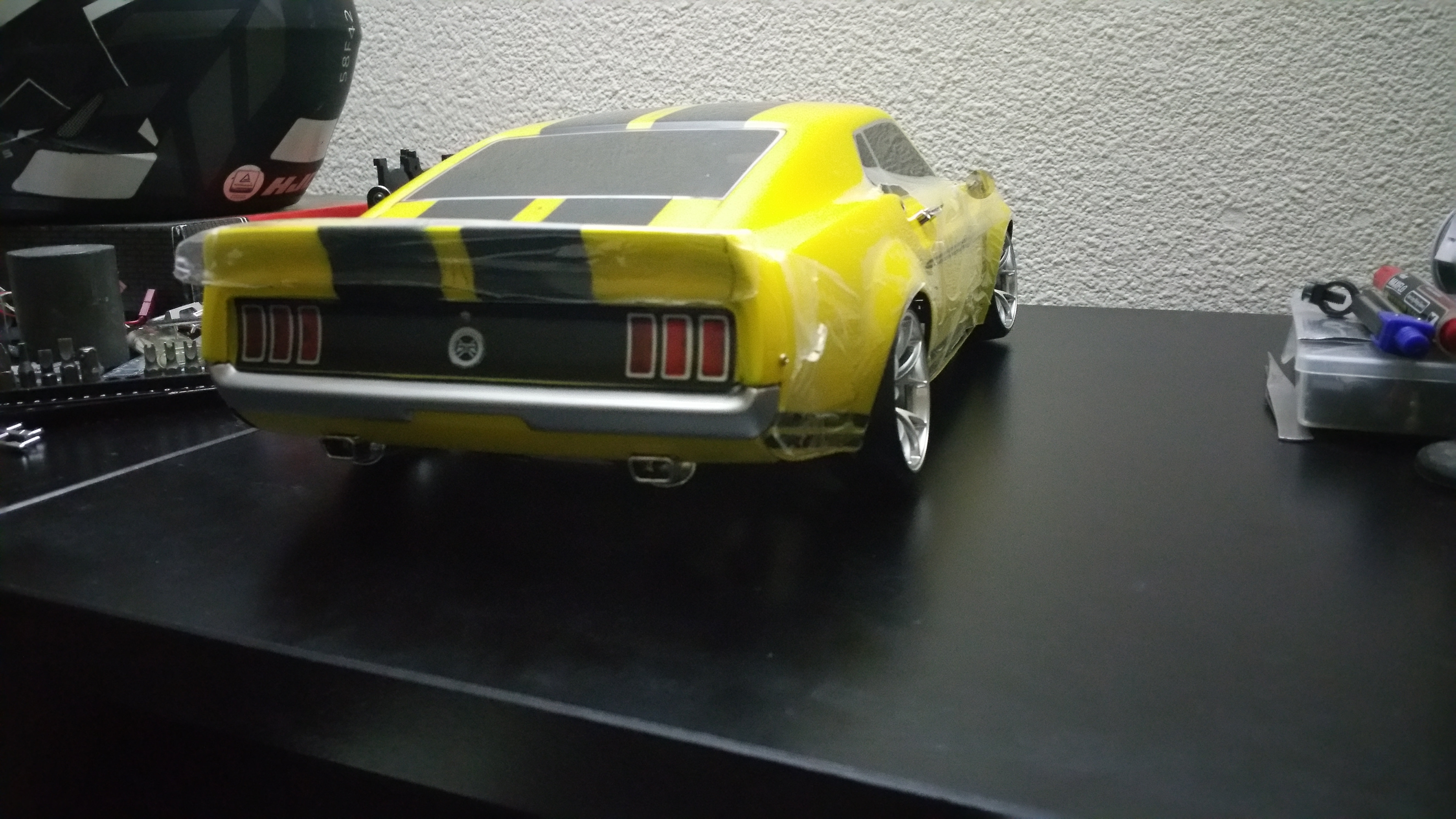 Ford Mustang 69 Boss302 version RTR-X  Hohg