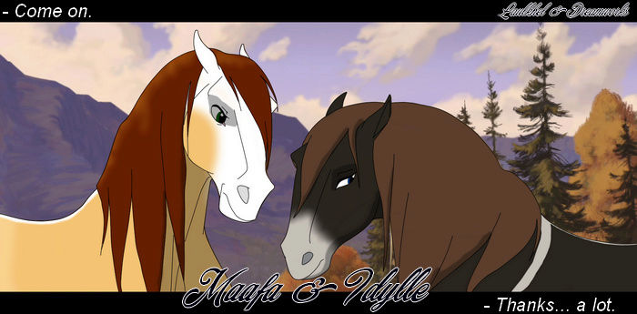 ♥:.Nos retrouvailles (Insanus and Anoki).:♥ Txuy