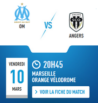 [OM - Angers] On continue ? {3-0} 5lts