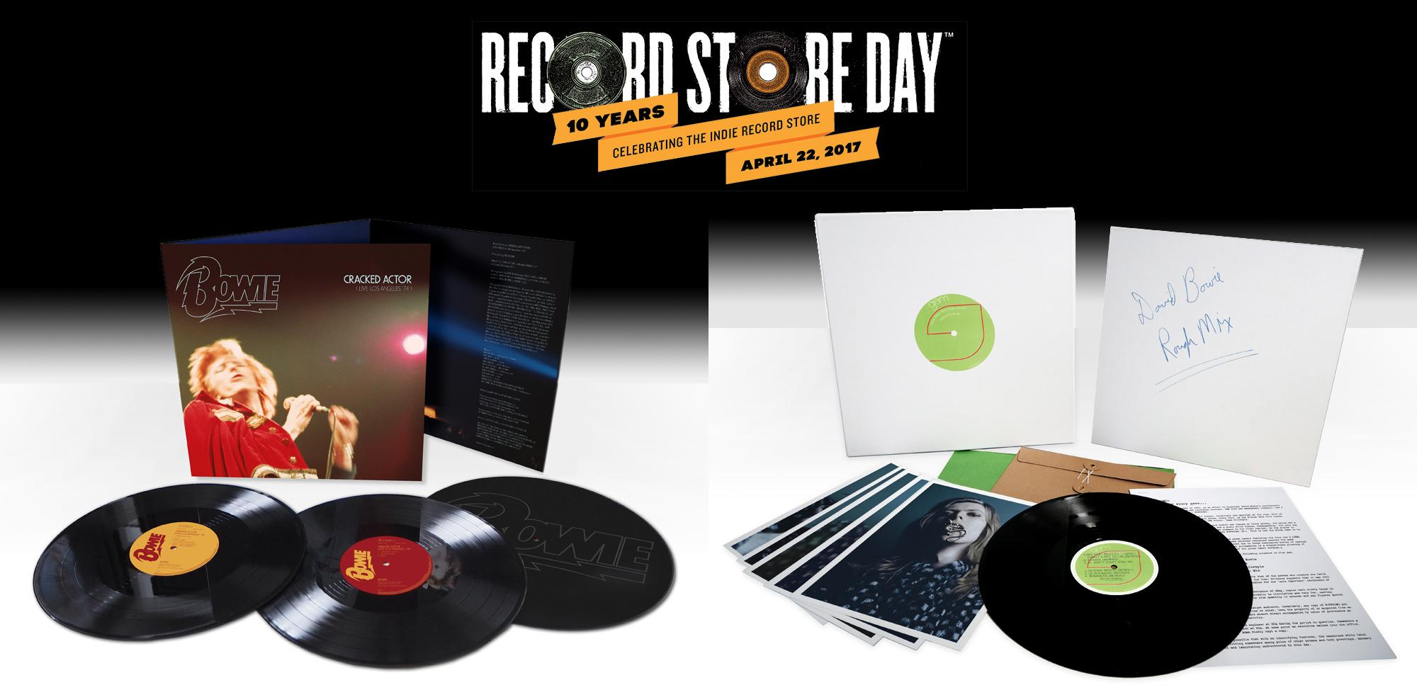 David Bowie : Record Store Day Avril 2017