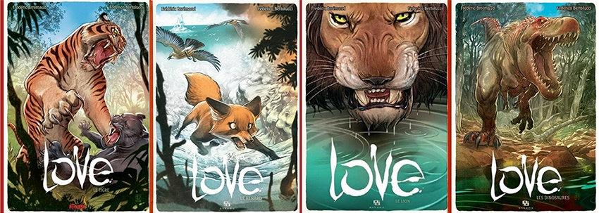 Love (Bertolucci) - Tomes 1 à 4