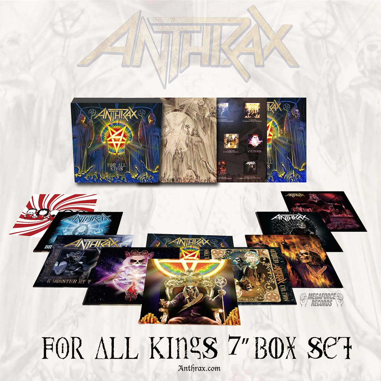 Anthrax : For All Kings 7' Box Set