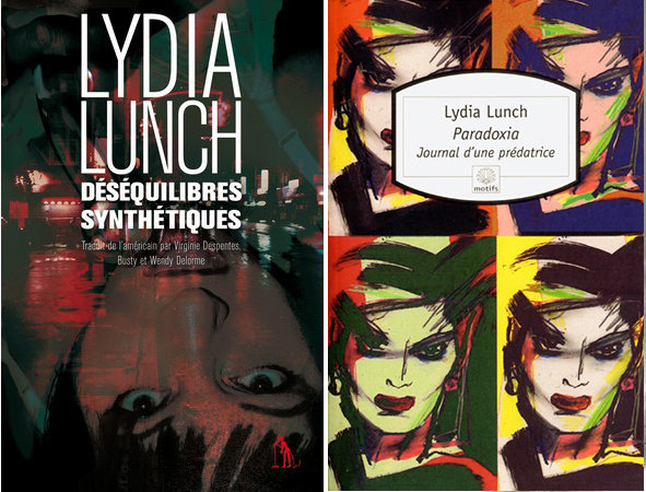 Pack Lydia Lunch - 2 livres