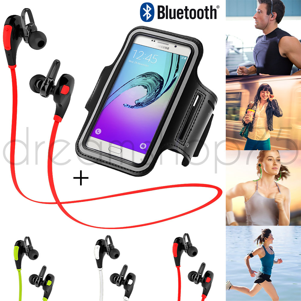 coque housse brassard de sport running et ecouteur bluetooth g2 pour samsung ebay. Black Bedroom Furniture Sets. Home Design Ideas