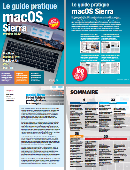 Le guide pratique macOS Sierra ( Mars 2017 ).