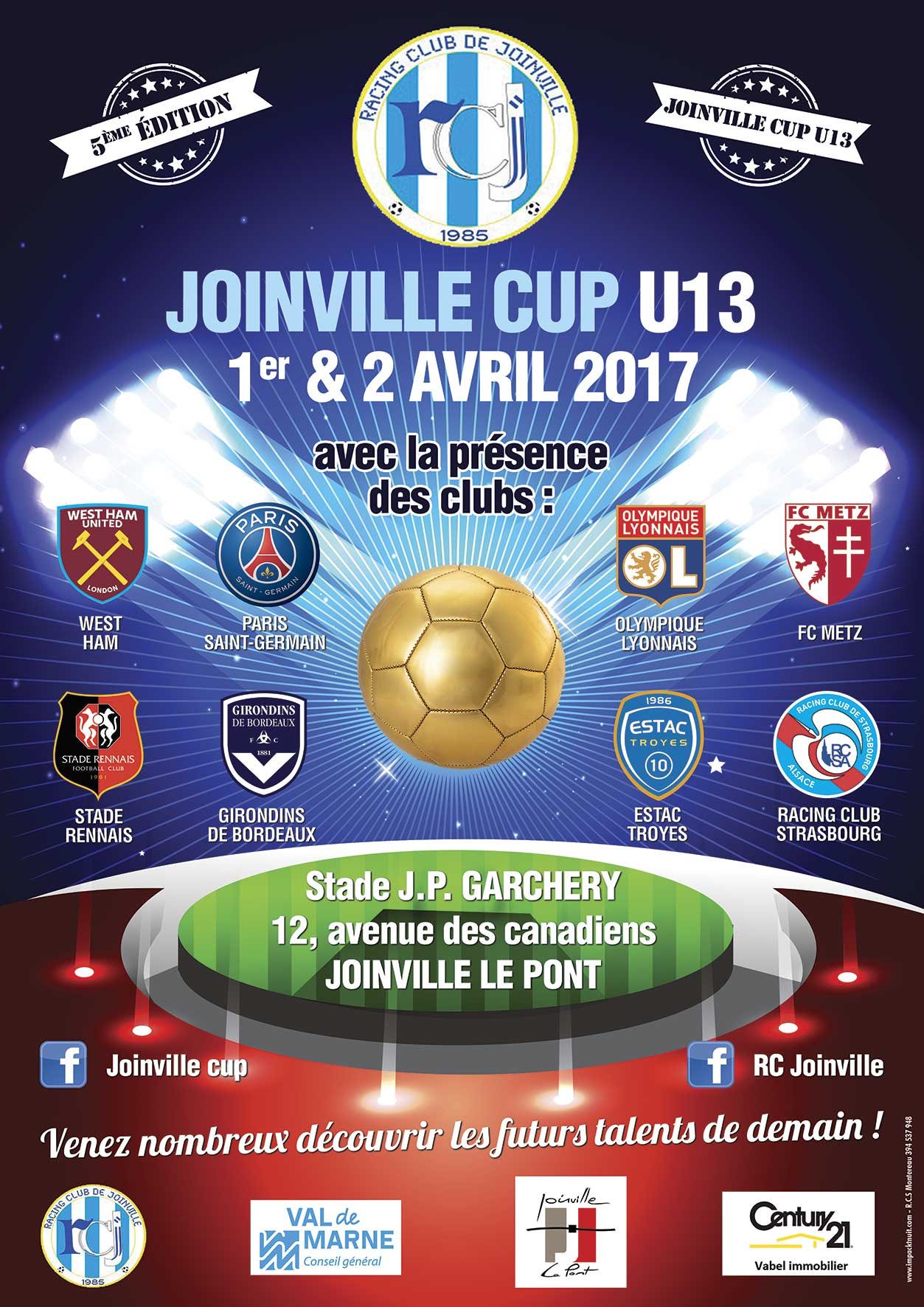 Cfa Girondins : La Joinville Cup U13, c'est ce week-end - Formation Girondins