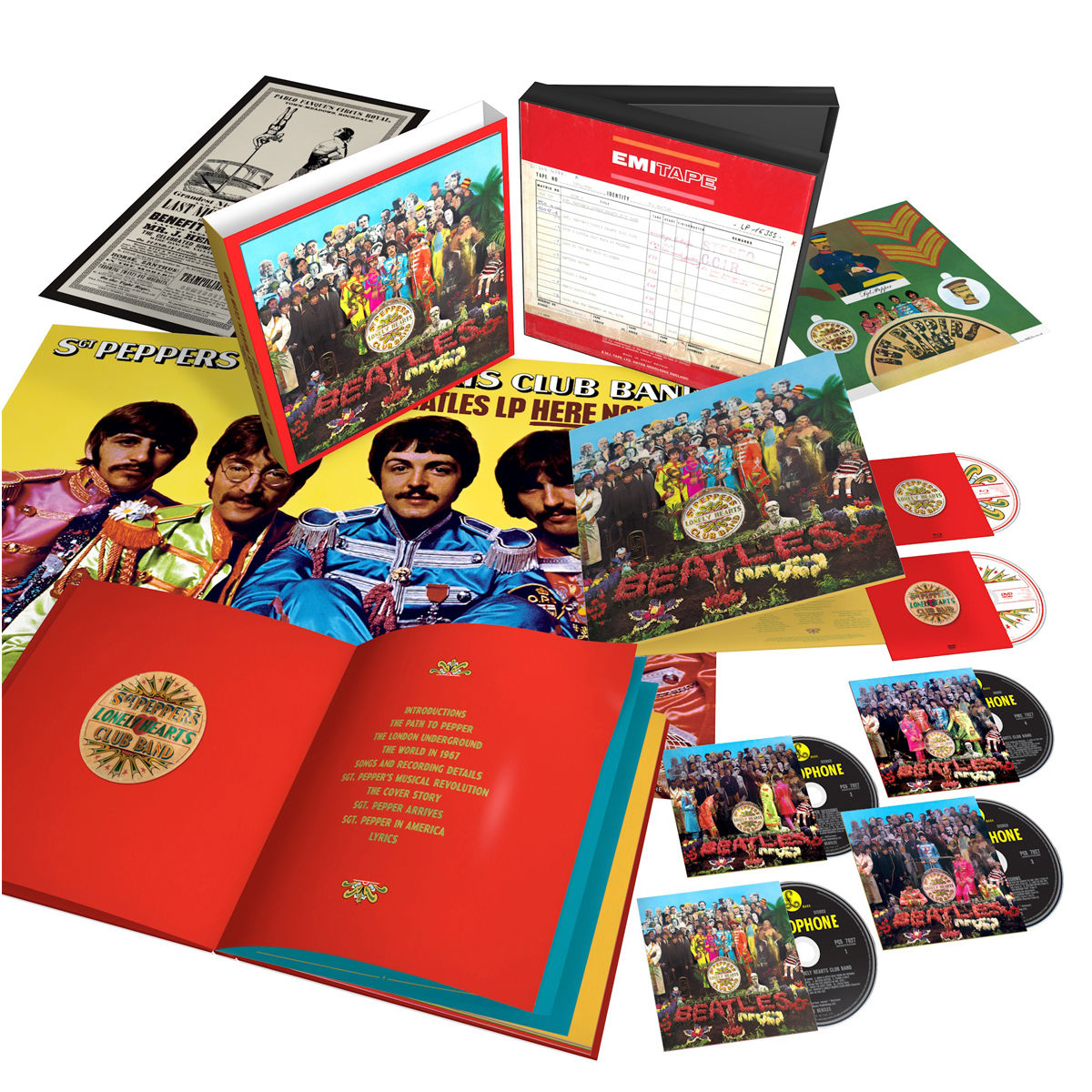 The Beatles : Sgt. Peppers Lonely Hearts Club Band - Anniversary Edition