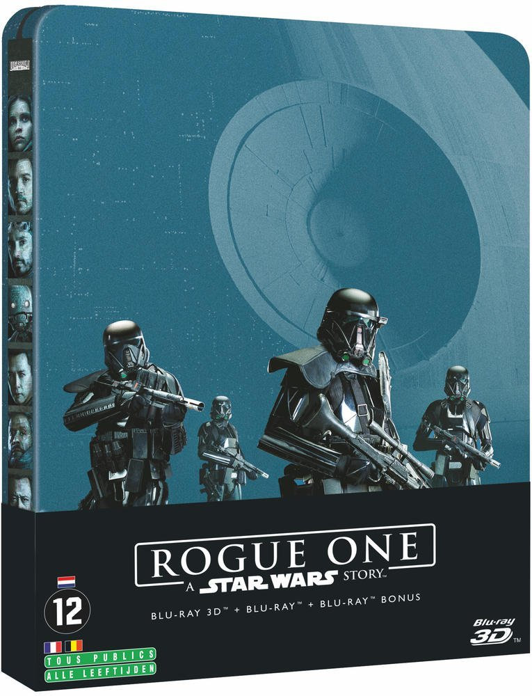 Rogue One : A Star Wars Story - Steelbook