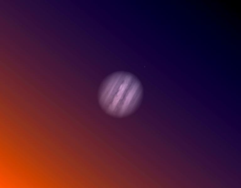 première experience jupiter ASI 178 scope 254 mm  1c4n