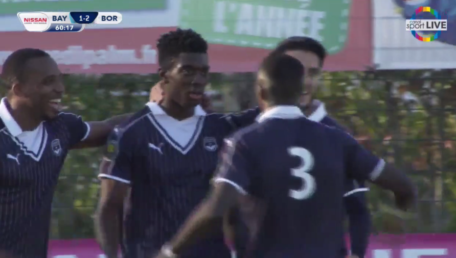 Cfa Girondins : (Re)voir le match Bayonne - Bordeaux (2-4) - Formation Girondins