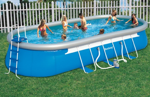 piscine autoport e ovale easy set intex