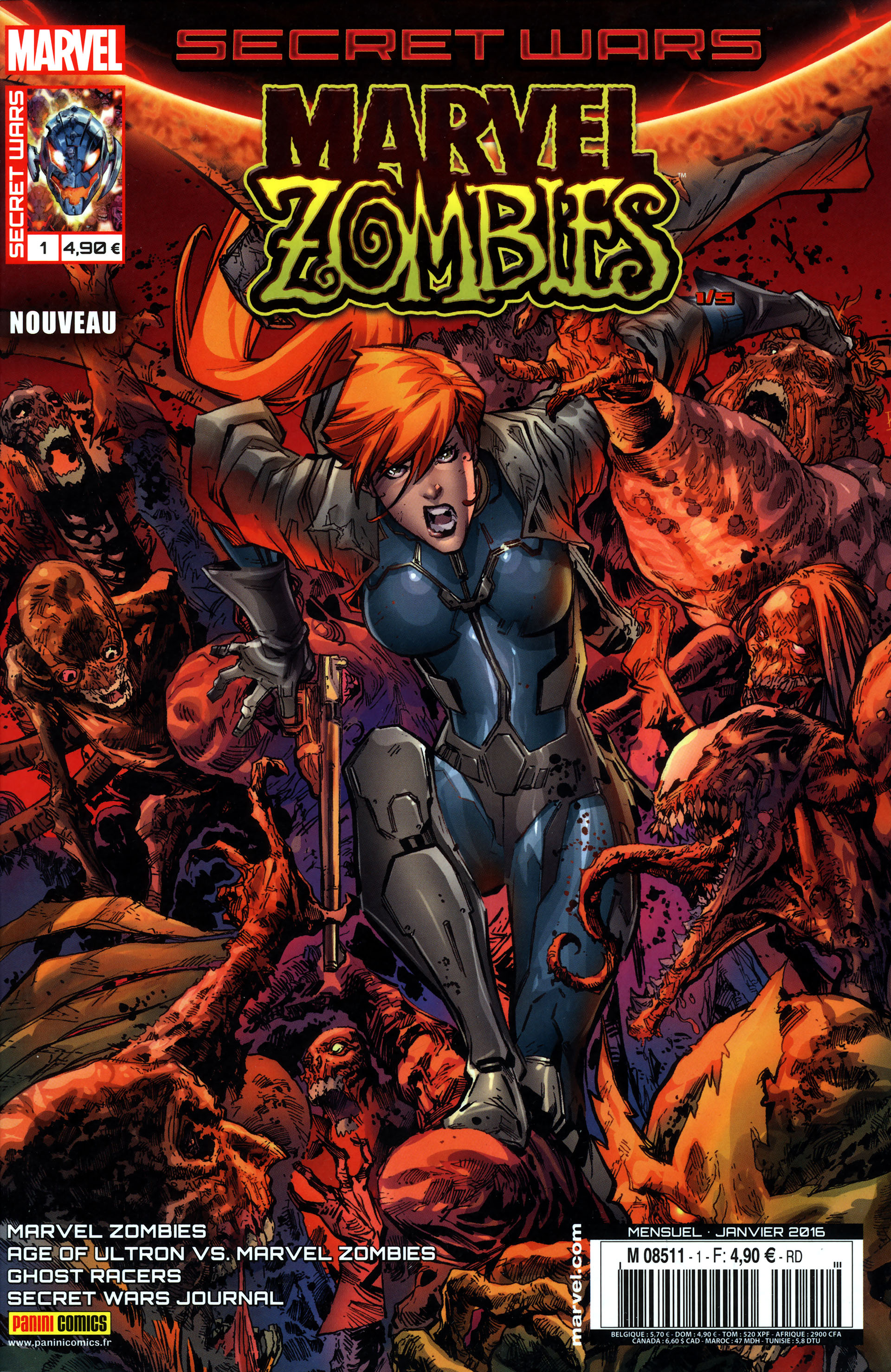 Secret Wars Marvel Zombies 5 tomes