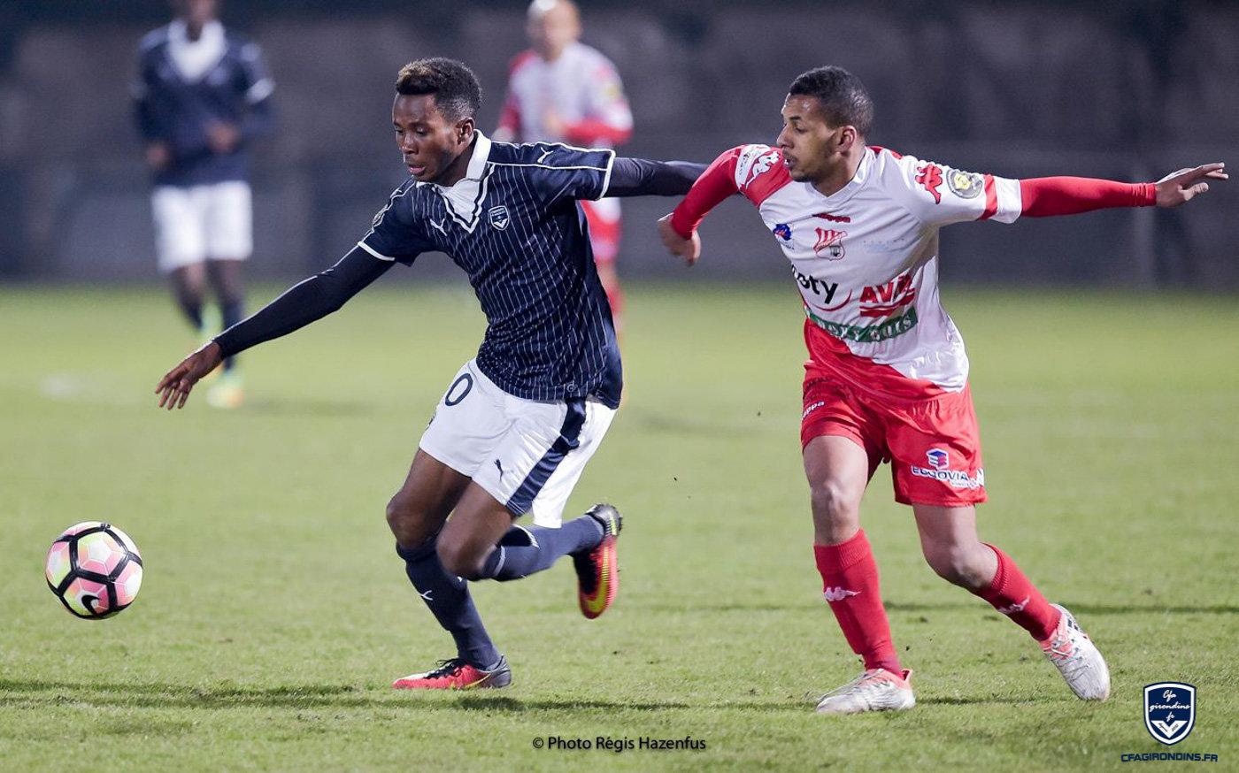Cfa Girondins : Marius Trésor - « Pour moi, Limoges est la meilleure équipe du groupe » - Formation Girondins