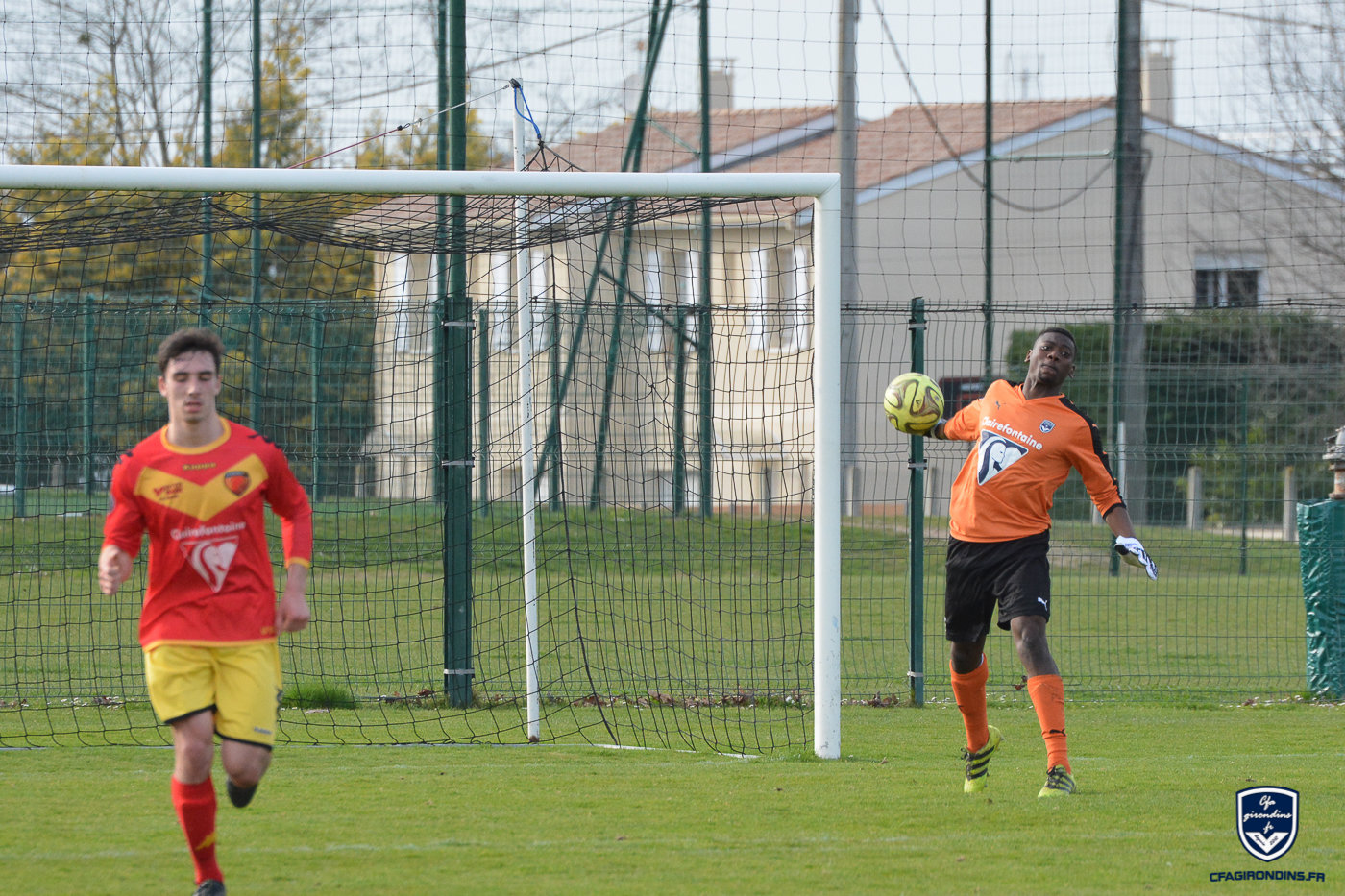 Cfa Girondins : Over Mandanda - « Intégrer le plus vite possible l'effectif professionnel » - Formation Girondins