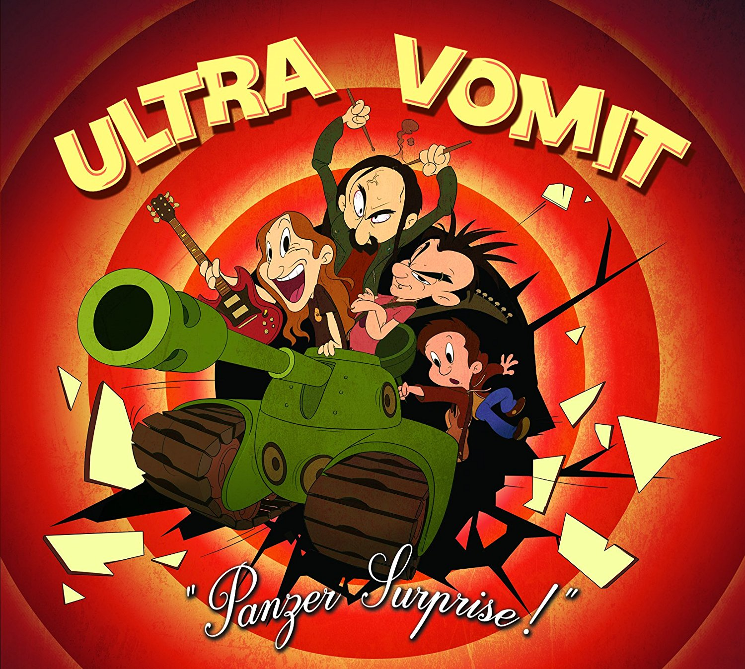 Ultra Vomit : Panzer Surprise