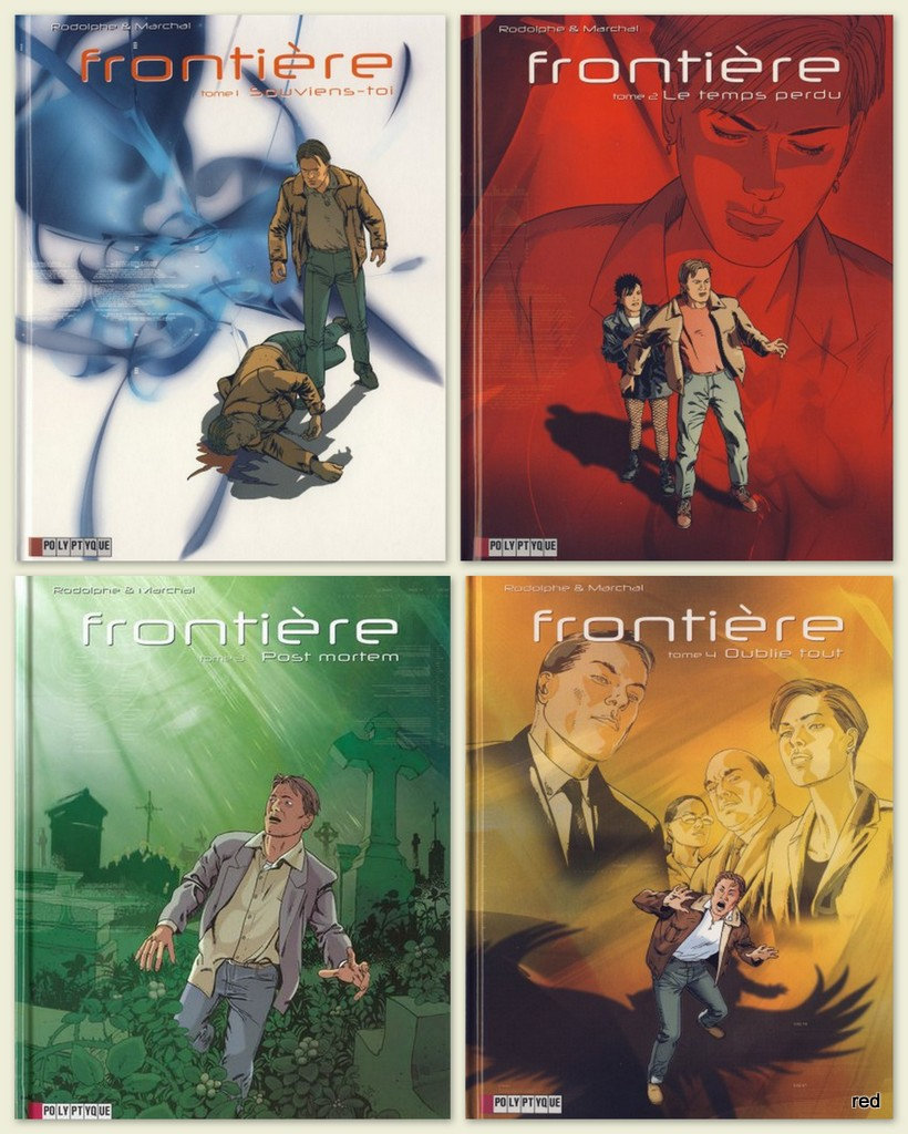 Frontière Tomes 1-4