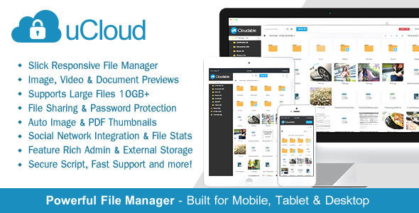 CodeCanyon - uCloud - File Hosting Script 1.3.4