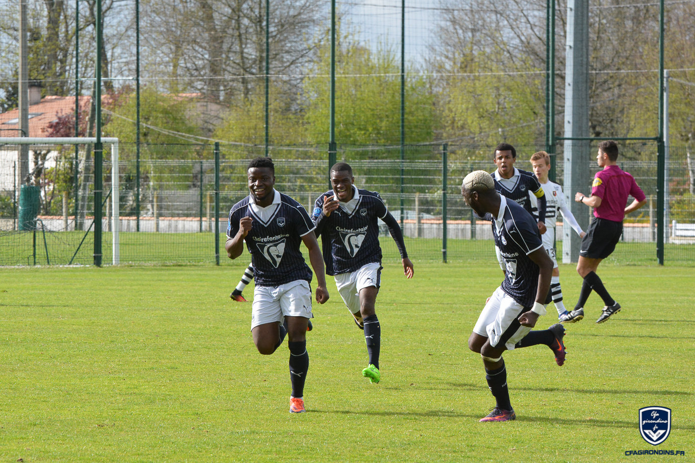 Cfa Girondins : Champions et direction les phases finales ! - Formation Girondins