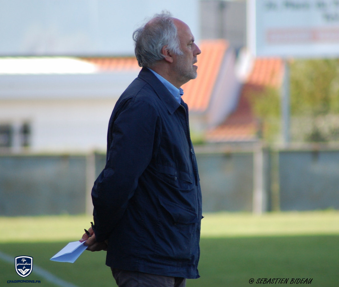 Cfa Girondins : Patrick Battiston - « De belles choses, de beaux mouvements » - Formation Girondins