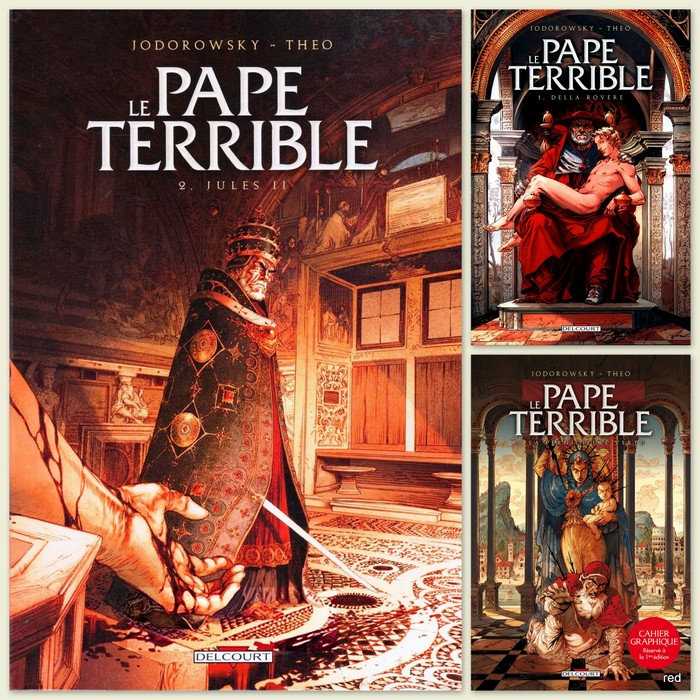 Le Pape Terrible Tomes 1-3