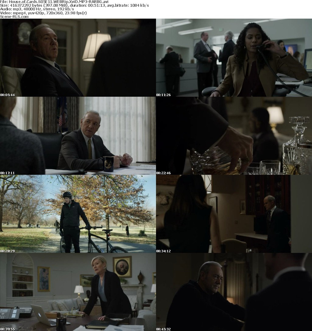 s05e11 house of cards