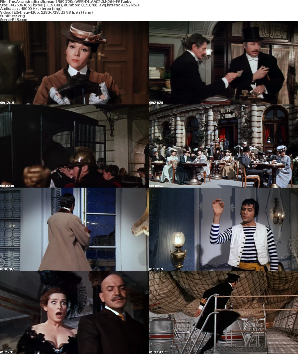 the assassination bureau 1969 movies tv network the assassination bureau oliver reed diana. Black Bedroom Furniture Sets. Home Design Ideas