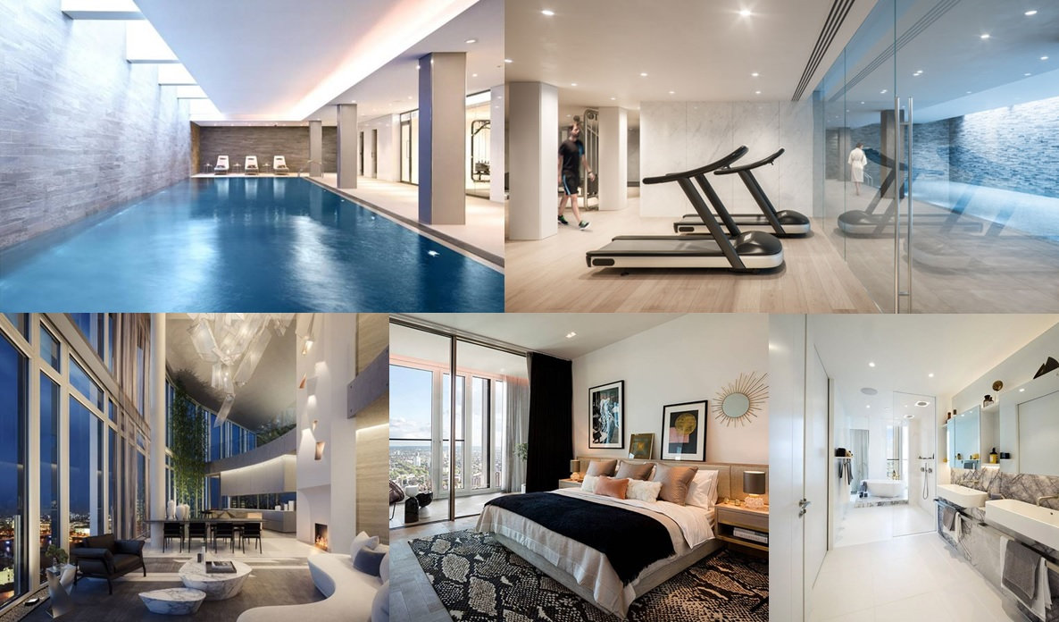 Shard And Tower Bridge To The East Exclusive South Bank Development Offers A Sophisticated Lifestyle At Heart Of Cultural