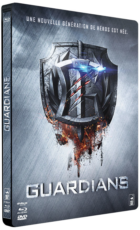 Guardians - Combo Steelbook Blu-Ray + DVD