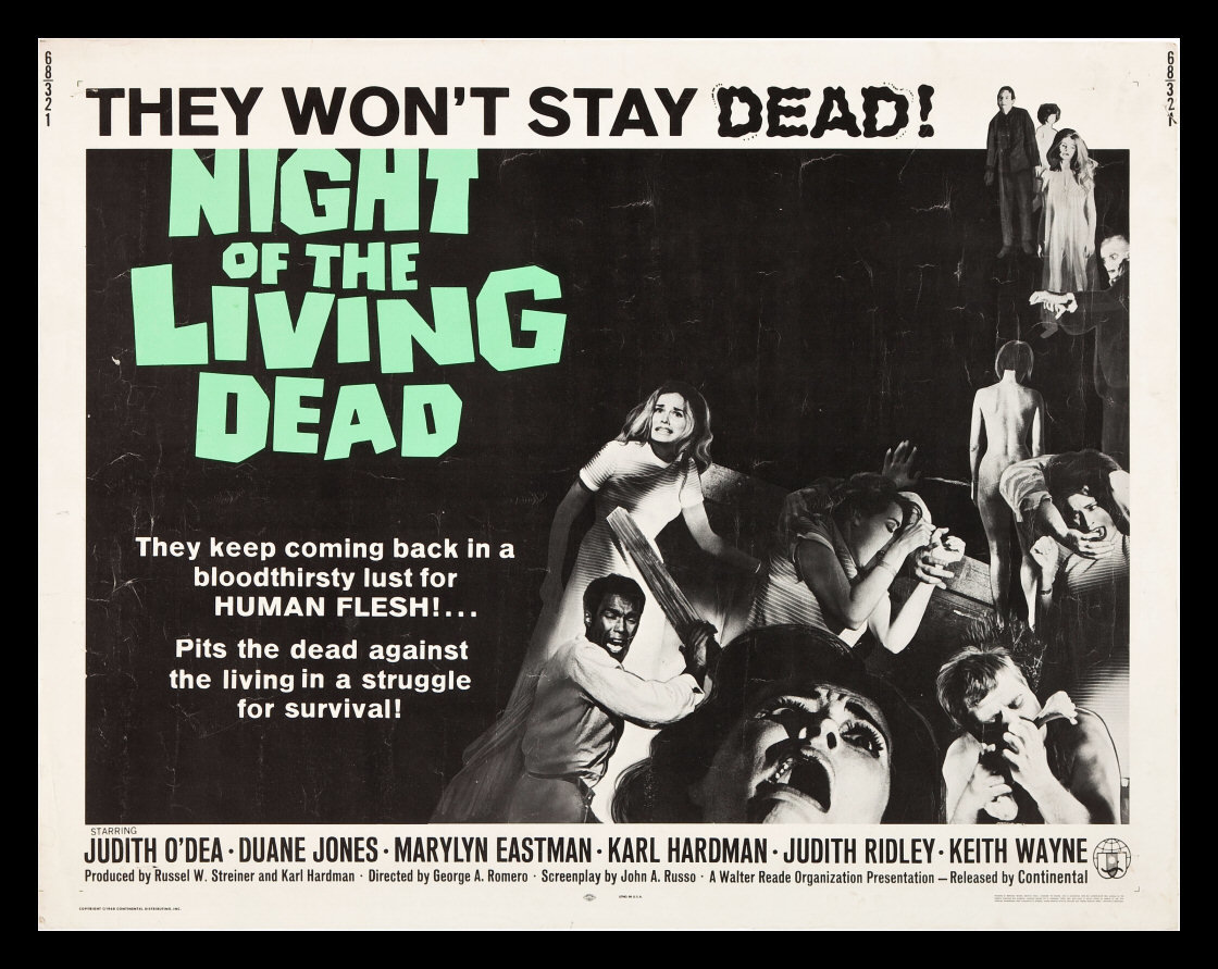 George A. Romero : Night Of The Living Dead