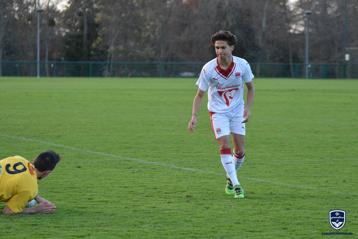 Cfa Girondins : Killian Brunie s'engage avec les U17 Nationaux du Stade Bordelais - Formation Girondins